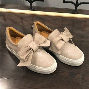Buscemi bow sneakers shoes